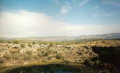 Montezuma well from above