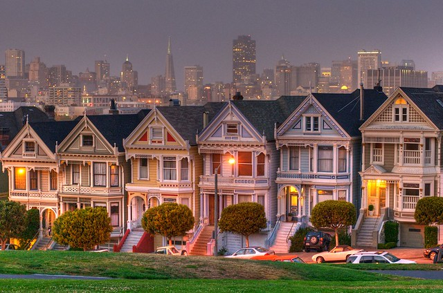 painted ladies or full house house flickr photo sharing. Black Bedroom Furniture Sets. Home Design Ideas