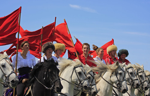 Cossack  horseriding display team