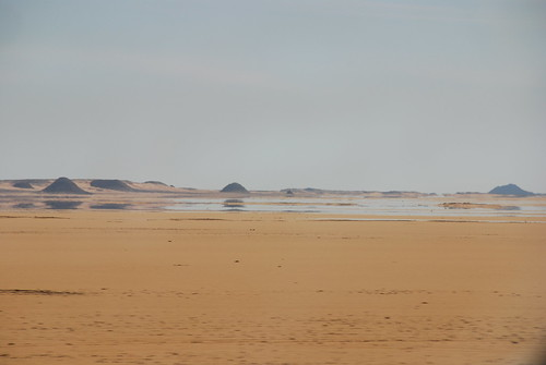 Mirage in the Desert