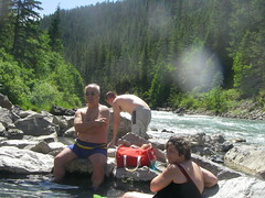 These natural hot springs are great