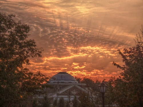 sky sunrise dawn elite hdr universityofdelaware udel 3xp mitchellhall enstantane