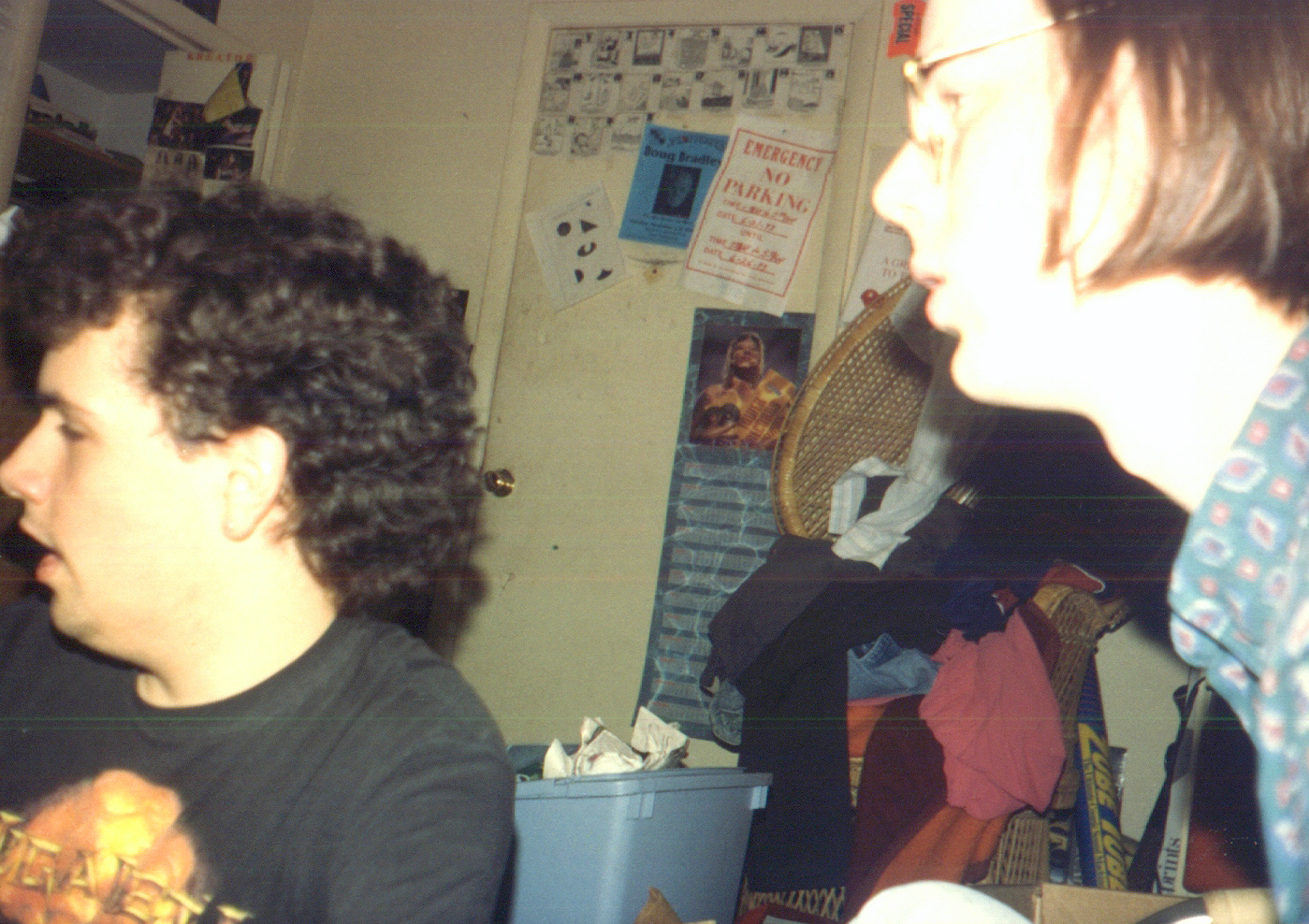 199407 - Clint's room - Clint, Brent - looking off to the side - 0492
