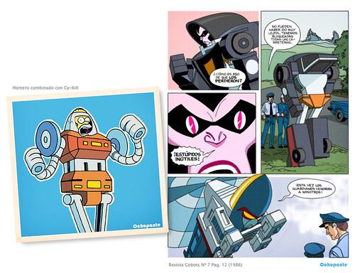 Retro Gobot Comic