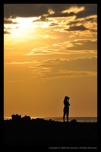 sunset beach silhouette sanjuan launion aplusphoto ilocosregion colourartaward urbiztondo
