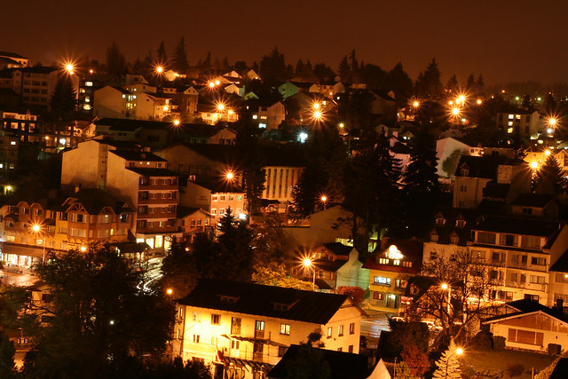 Bariloche by night