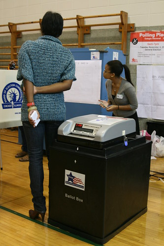 The ballot-reading machine