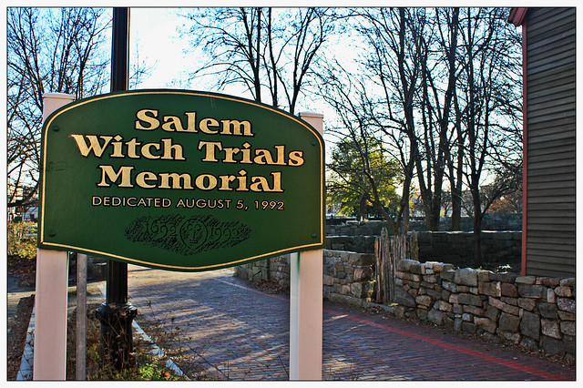 Witch Trial Memorial from Flickr via Wylio