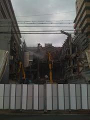 草津シネマハウスの取り壊し
