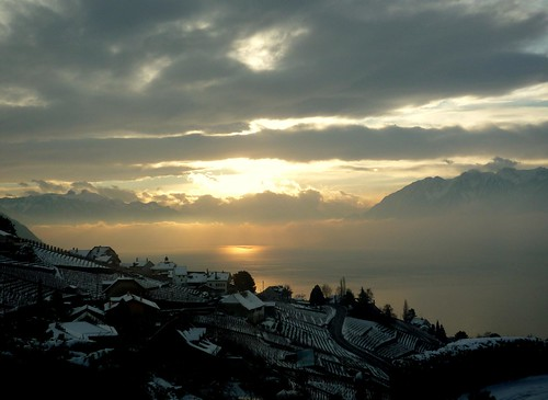 lake snow sunrise leman depardieu grandvaux genevalunch touslesmatinsdumonde