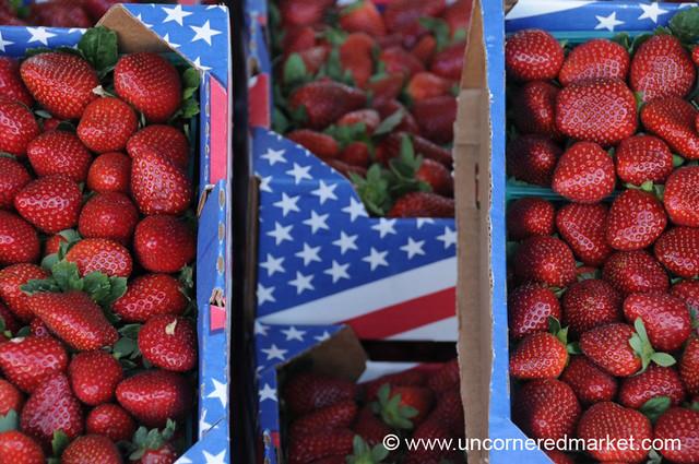 Strawberries at Farmer's Market - Jacksonville, Florida