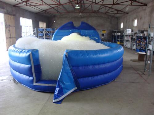 bubble foam machine