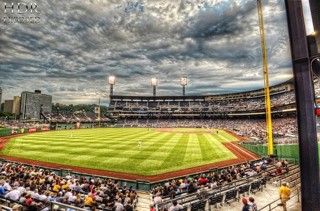 PNC Park from left field HDR