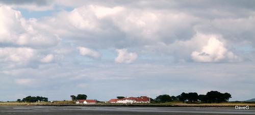 Clubhouse Portmarnock golf club.