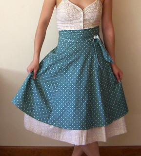 heather ross' weekend sewing: yard sale wrap skirt pattern