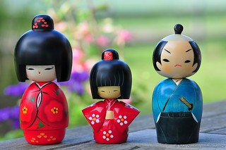Souvenirs of Japan 4 (Kokeshi Dolls こけし人形)