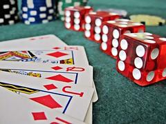 Royal Flush at Casino