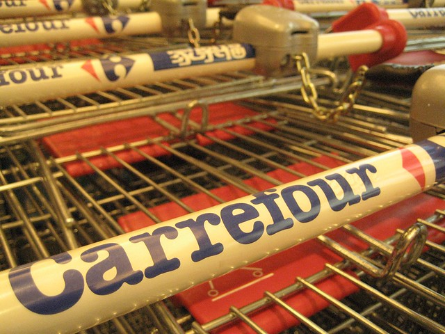 Carrefour operates a number of stores in Singapore
