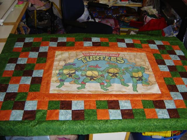 Teenage Mutant Ninja Turtles Baby Quilt The Quilt I Am