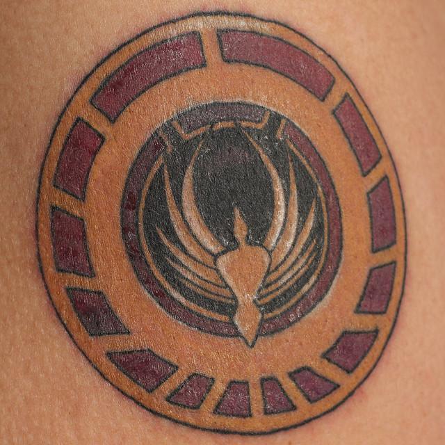 Battlestar galactica tattoo flickr photo sharing for Battlestar galactica tattoo