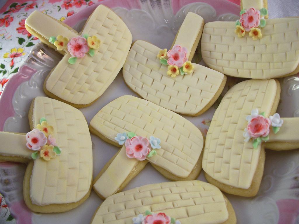 Basket Making Supplies New York : Sugar meringue may basket cookies