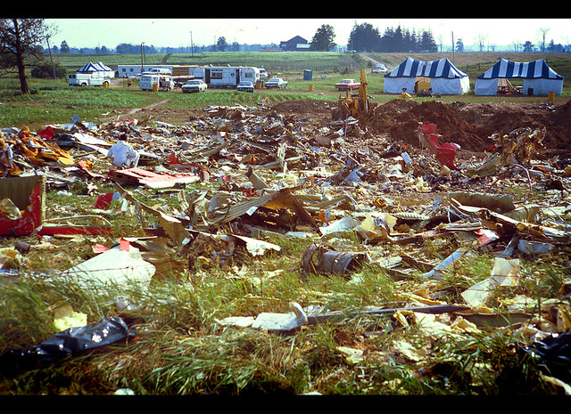 Brampton's LARGEST AIR DISASTER…Flight 621::: 1970