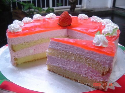 Strawberry Mousse Cake Recipe | Flickr - Photo Sharing!