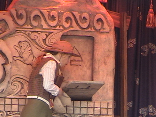 Indiana Jones™ and the Secret of the Stone Tiger Revealed!, Aladdin's Oasis, Adventureland, Disneyland®, Anaheim, California, 2008.05.26 15:21