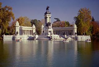 Madrid in autumn