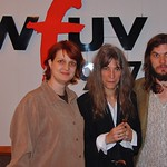 Patti Smith at WFUV with Claudia Marshall
