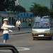 Traffic Lady. Pyongyang, North Korea.