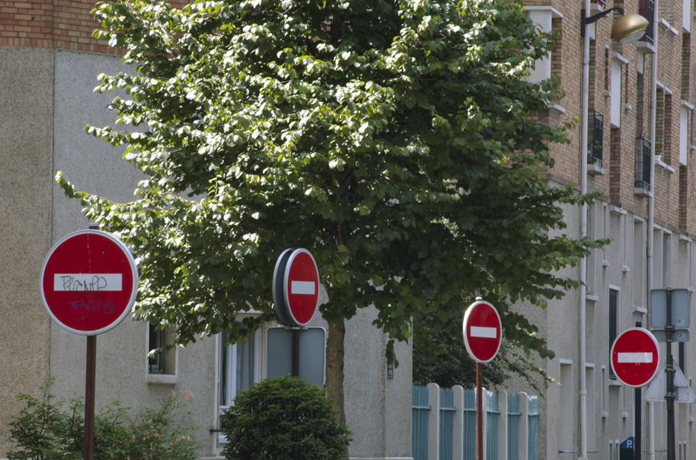 Road Signs in France