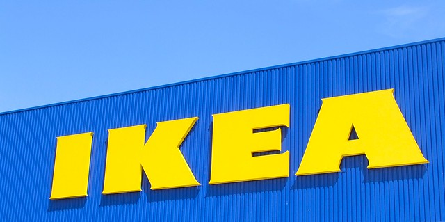 IKEAの看板