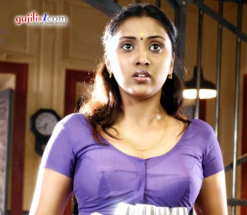 Hot Transparent Saree Without Blouse