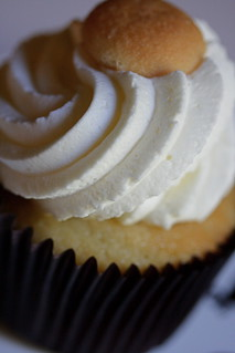 Banana Pudding Cupcake