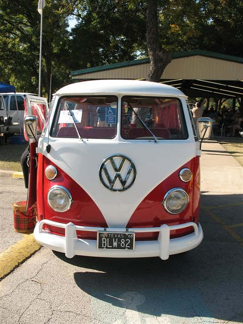 red and white vw bus 11 window kombi in fort worth tx front view flickr photo sharing. Black Bedroom Furniture Sets. Home Design Ideas