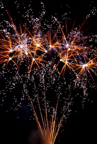 Bonfire night in Felixstowe
