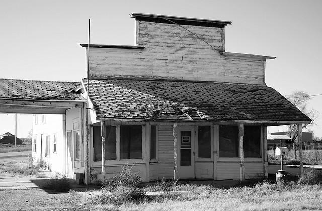 Storefront on Nebraska's Highway 30
