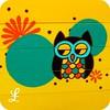 owl nesting picnic set front detail