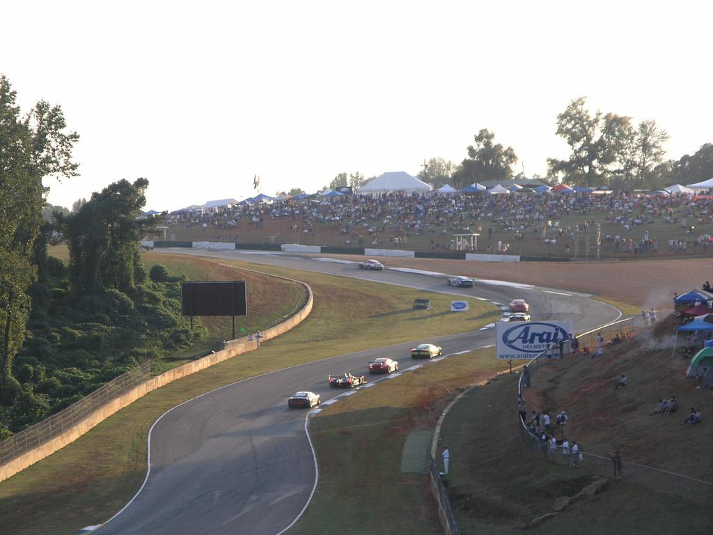 2008 Petit Le Mans: Spectator's Hill