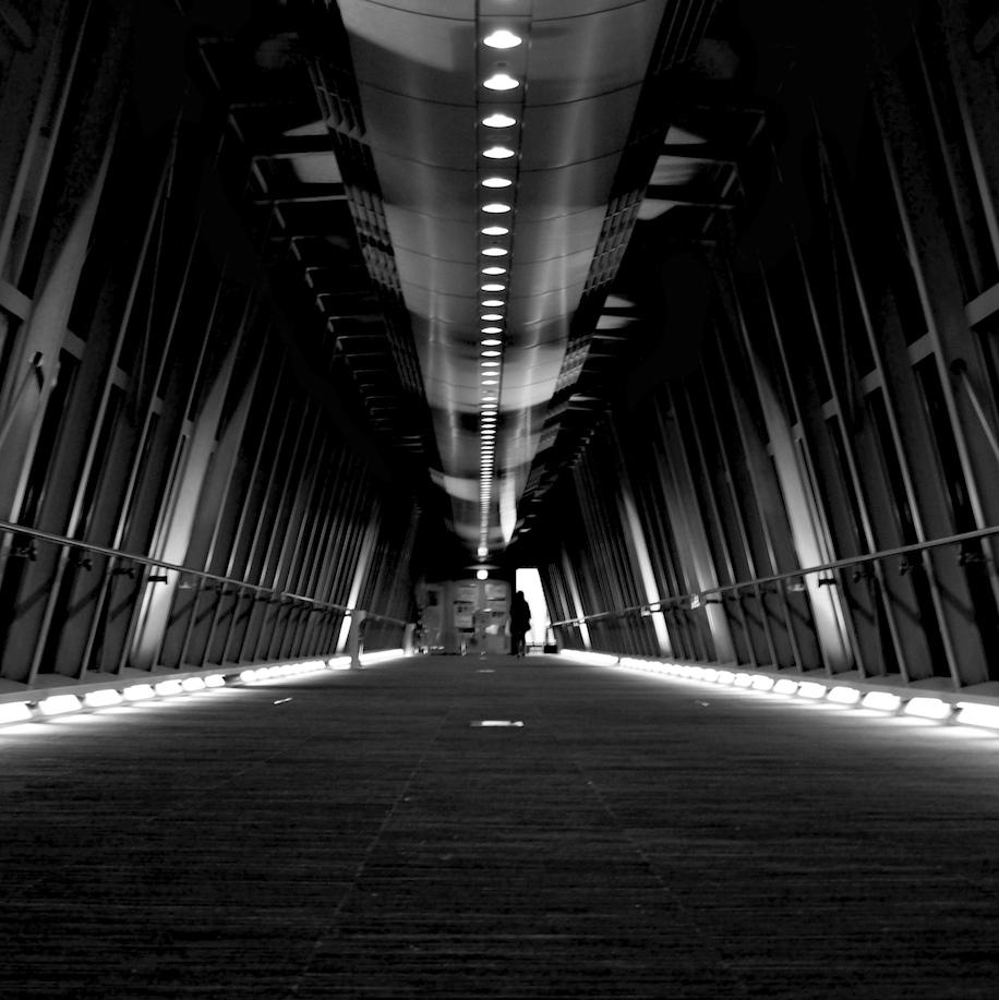 On Black: corridor #2 by sinkdd [Large]