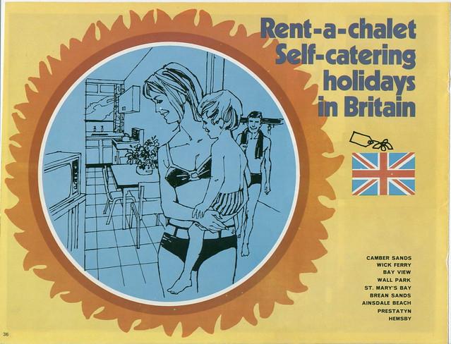 Pontins Brochure 1972 - Rent-a-Chalet