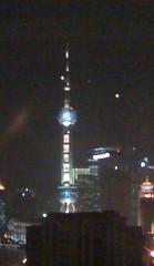 Advertising in Shanghai: LCD screen on a zeppelin