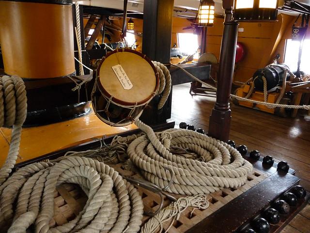 HMS Victory Deck