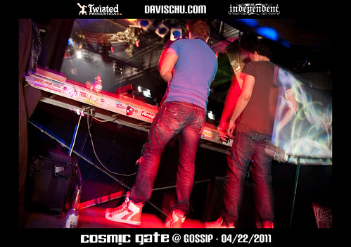Cosmic Gate @ Gossip, Vancouver BC - 04/22/2011