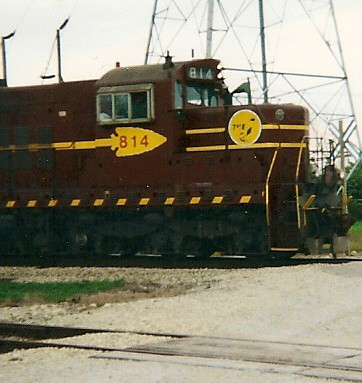 Northbound Elgin, Joliet & Eastern Railroad freight train. Crest Hill Illinois USA. September 2000. by Eddie from Chicago
