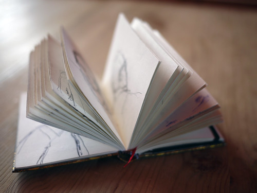 Brook's sketch book