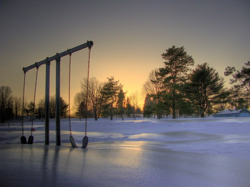 trees winter sunset sun snow set vermont sundown steel swing hdr randolphcenter canong9