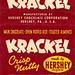 Hershey Krackel, 1950's by Roadsidepictures