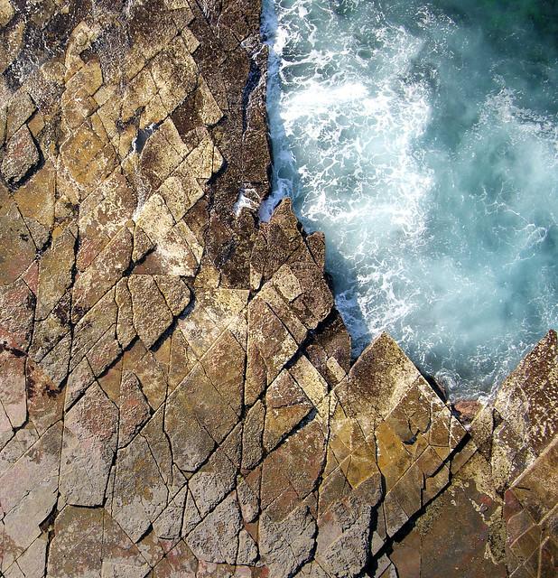 Coledale Beach NSW Australia Rocky Outcrops